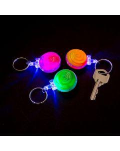 Light-Up Lollipop Keychains