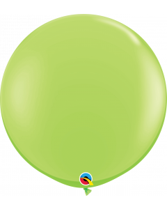 Lime Green Round Latex Balloons
