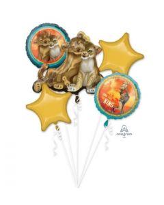 Lion King Foil Balloon Bouquet