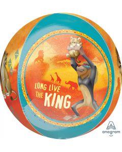 Lion King Orb Foil Balloon