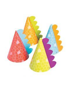 Little Dino Party Hats Assortment