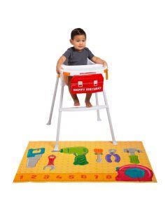 Little Handyman Birthday High Chair Decorating Kit