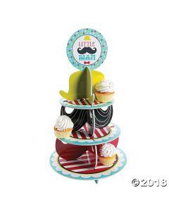 Little Man Cupcake Stand