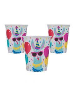 Llama Birthday Paper Cups