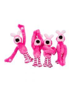 Long Arm Easter Stuffed Flamingos with Bunny Ears
