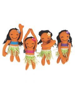 Long Arm Plush Hula Girls