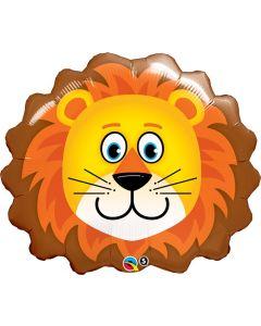 Lovable Lion Foil Balloon