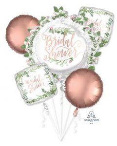 Love & Leaves Bridal Shower Balloon Bouquet