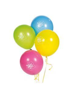 "Luau 11"" Latex Balloons"
