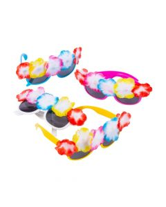 Luau Flower Top Sunglasses