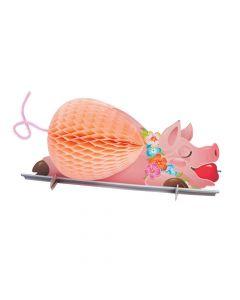 Luau Pig Tissue Centerpiece