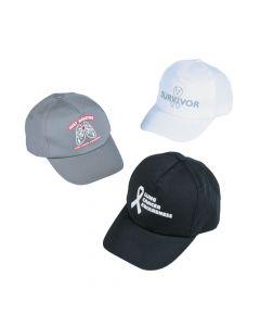 Lung Cancer Awareness Baseball Hat Assortment