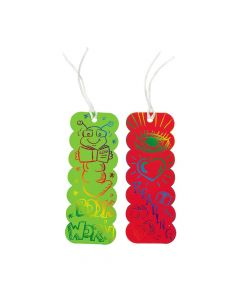 Magic Color Scratch Colored Bookmarks