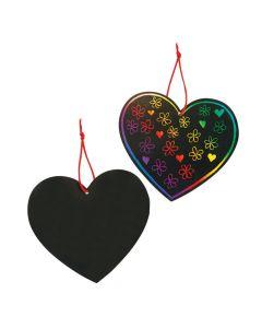 Magic Color Scratch Hearts