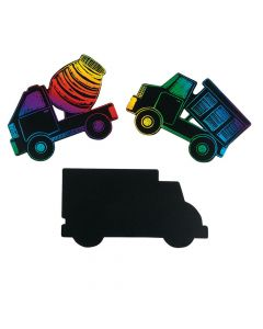 Magic Color Scratch Trucks