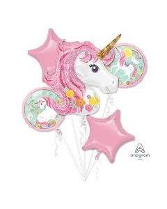 Magical Unicorn Foil Balloon Bouquet