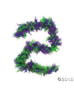 Mardi Gras Genuine Feather Boa