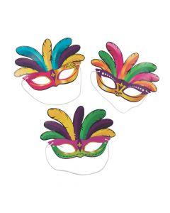 Mardi Gras Paper Masks