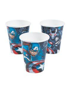 Marvel Avengers Paper Cups