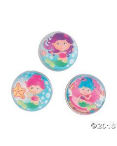 Mermaid Bouncing Balls