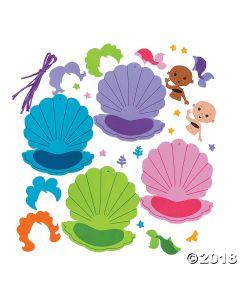 Mermaid Ornament Craft Kit