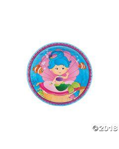 Mermaid Party Paper Dessert Plates