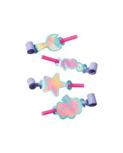 Mermaid Sparkle Icon Blowouts