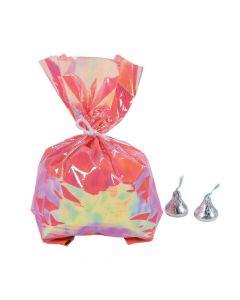 Mermaid Sparkle Iridescent Cellophane Bags