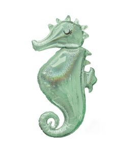 Mermaid Wishes Seahorse Supershape
