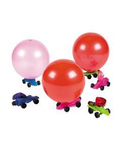 Metallic Balloon Car Racers