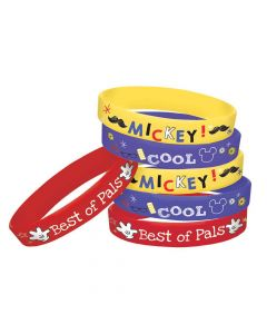Mickey on the Go Rubber Bracelets