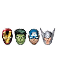 Mighty Avengers Die-cut Masks