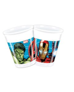 Mighty Avengers Plastic Cups