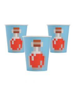 Minecraft Paper Cups