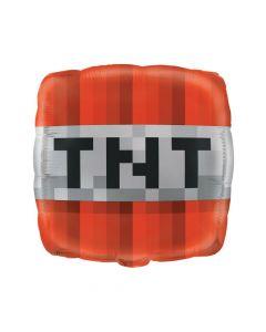 Minecraft TNT Mylar Balloon