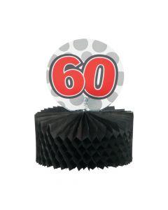 Mini 60th Birthday Centerpieces