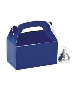 Mini Blue Favor Boxes