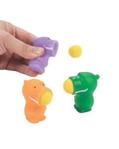 Mini Dinosaur Popper Ball Launchers