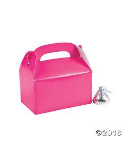 Mini Hot Pink Favour Boxes