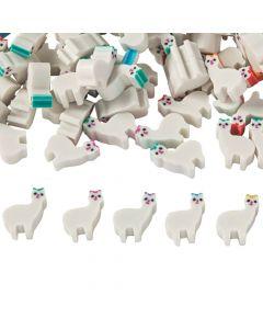 Mini Llama Erasers