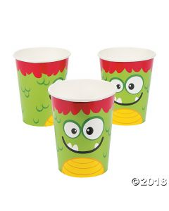Mini Monster Paper Cups