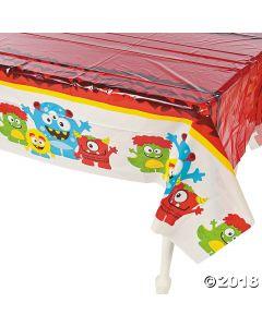 Mini Monster Plastic Tablecloth