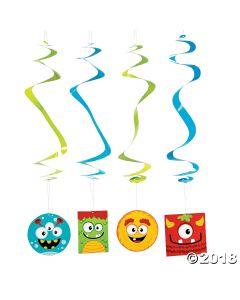 Mini Monster Swirls