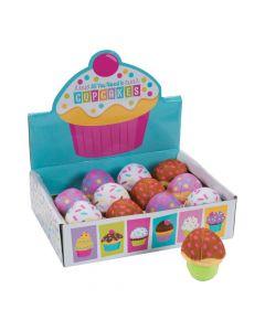 Mini Plush Cupcakes with Box