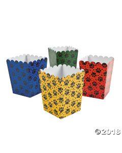 Mini Puppy Party Popcorn Boxes