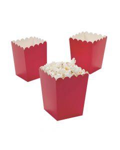 Mini Red Popcorn Boxes