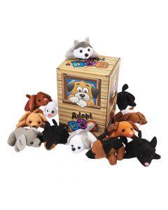 Mini Stuffed Dog Pound Assortment