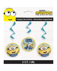 Minions™ Hanging Swirls