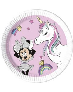 Minnie Unicorn Eco Plates