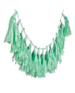Mint Green Tassel Garland